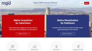 MGID Native Advertising Marketplace