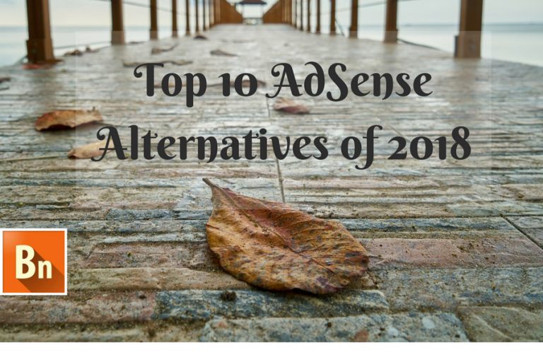 adsense alterantive list 2018