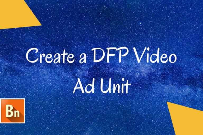 DFP video ad unit